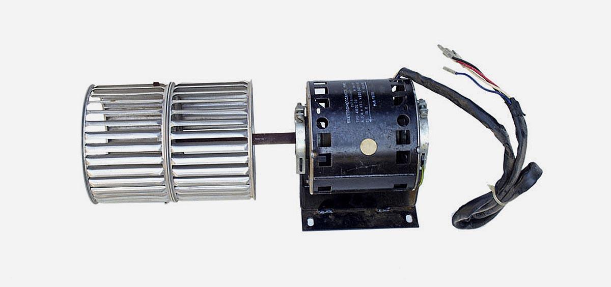 Motori e ventole per ventilconvettori